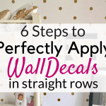 Wall Decals tips!