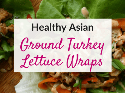 Healthy Asian Ground Turkey Lettuce Wraps (PF Chang's Copycat)